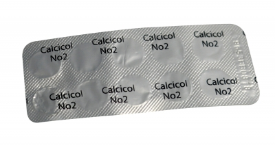 PASTILLE CALCICOL 1 & 2 (tH) POOLTEST 6